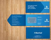 Porta-cartão Banrisul - Agência Escala