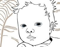 Illustrator baby Fien
