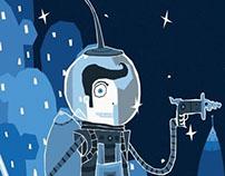 University Art Sale: Science Fiction Poster Designs