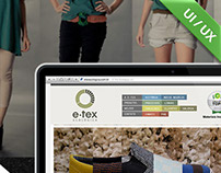 E-tex website