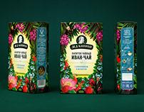 Nature-Inspired Design: Ded Kiprey Range of Teas