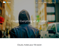 Clouds - Multi-Purpose Adobe Muse Template