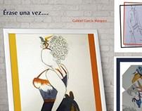 Ilustraciones para el relato de G.Garcia Márquez