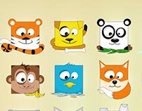 cubic animals