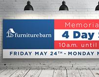 Furniture Barn - Memorial Day Sale Environmental Design