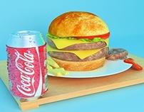 Coke & Sandwich