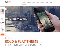 Agile - Multi-Purpose App Showcase WordPress Theme
