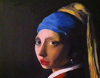 Vermeer's Girl with the Pearl earring