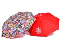 Filter017 Dazzle Shield Folding Umbrella