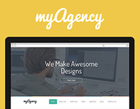myAgency - Creative PSD Template