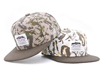 Filter017 Splash-ink Camo Snapback Cap