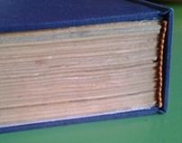Restauración de libro viejo