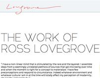 Ross Lovegrove Informational Website