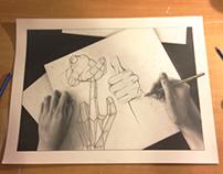 An Artists Hands
