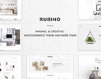 Rubino - Minimal & Creative WooCommerce Theme