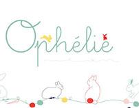 "Illustration ""Ophelie"""