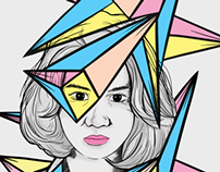 Woman Polygon