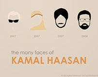 Poster & Infographic about Kamal Haasan
