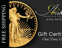 Free Shipping Coupon for The American Eagle Reserve