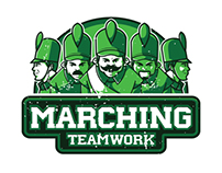 Marching teamwork