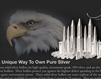 Silver Bullet Bullion Post Card ad for AER