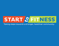 Start to Fitness Truck Signs