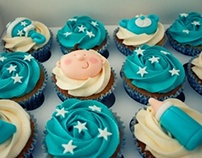 Baby Shower Cupcakes - Boy