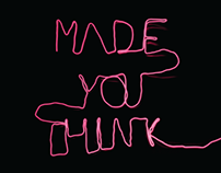 'Made You Think' Fictional Tate Modern Exhibition