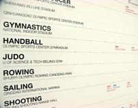 Beijing Olympic Schedule 2010