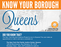 AVP Know Your Borough Campaign