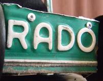 Cali-Rado Plate Car