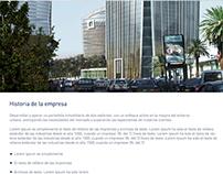 Urbanova responsive web design
