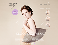 Ducsai Judit Webshop Concept