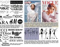 The Big Four - Fashion   A-Level Coursework