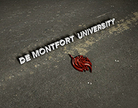 De Montfort University Logo Animation