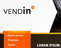 Vendin Website Layout