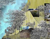 Tech 3 Middle School parking lot Storm water management