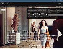 Hilton Luxury Brands Site Redesign