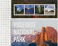 yosemite national park stamps
