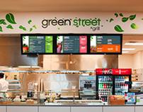Green Street Campus Branding