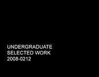 Undergraduate selected work