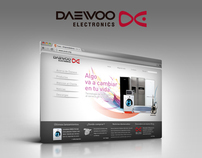 Daewoo Electronics Spain & Portugal - Web Site