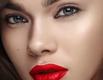 Beauty retouch for Kushyk Olya