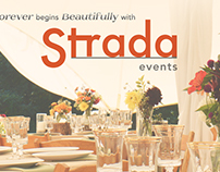Strada events wedding ad