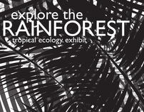 Rainforest Museum Exhibit Poster