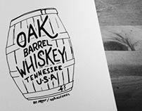 Oak Barrel Whiskey
