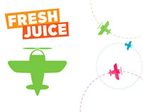 Fresh Juice - Recipe iPad Promo