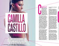 Layout // Camila Castillo Feature