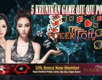 5 Keunikan Game Qiu Qiu Poker