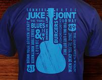 Burgers & Blues T-shirts
